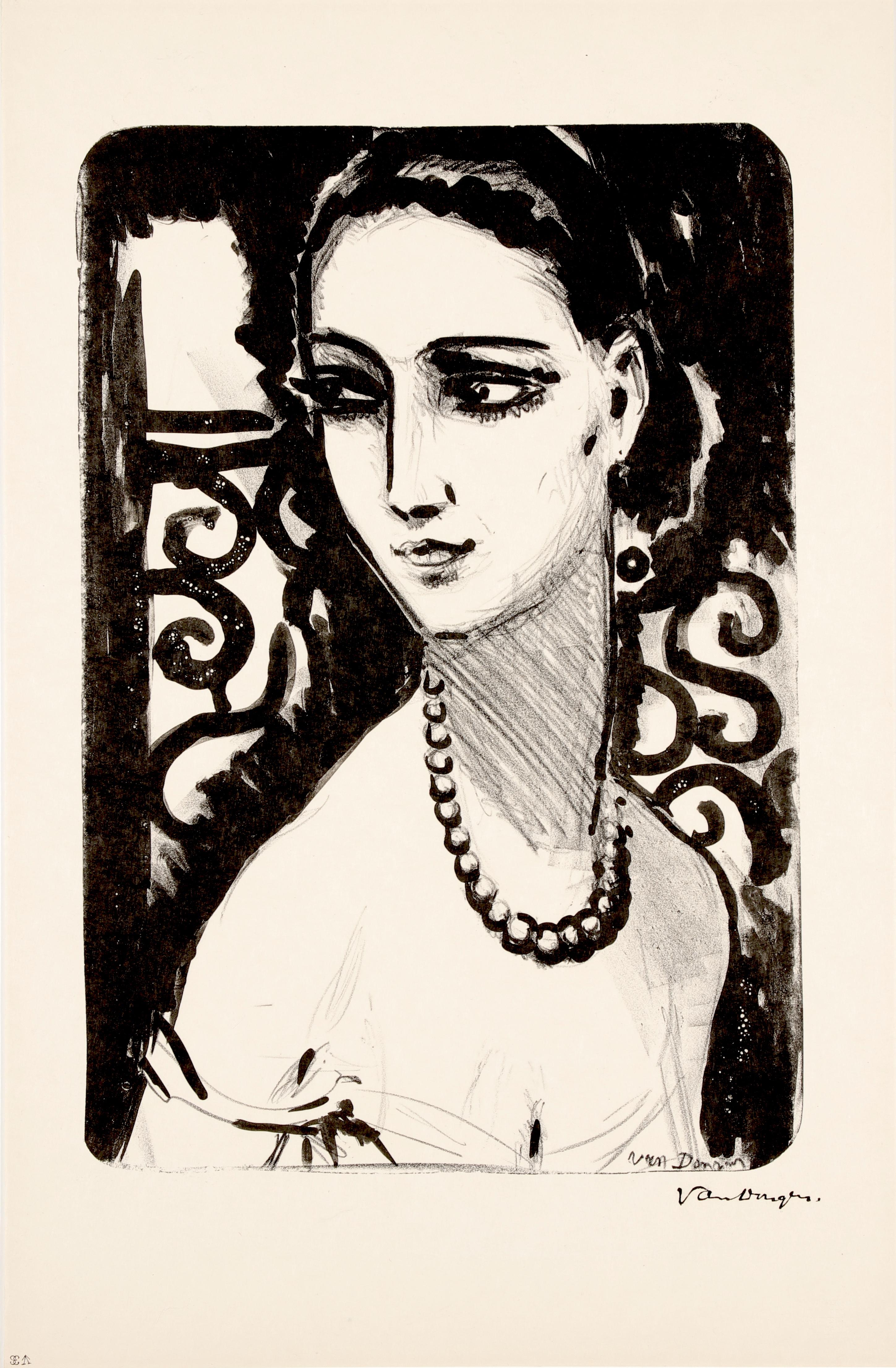 Van Dongen- Le Collier de Perles