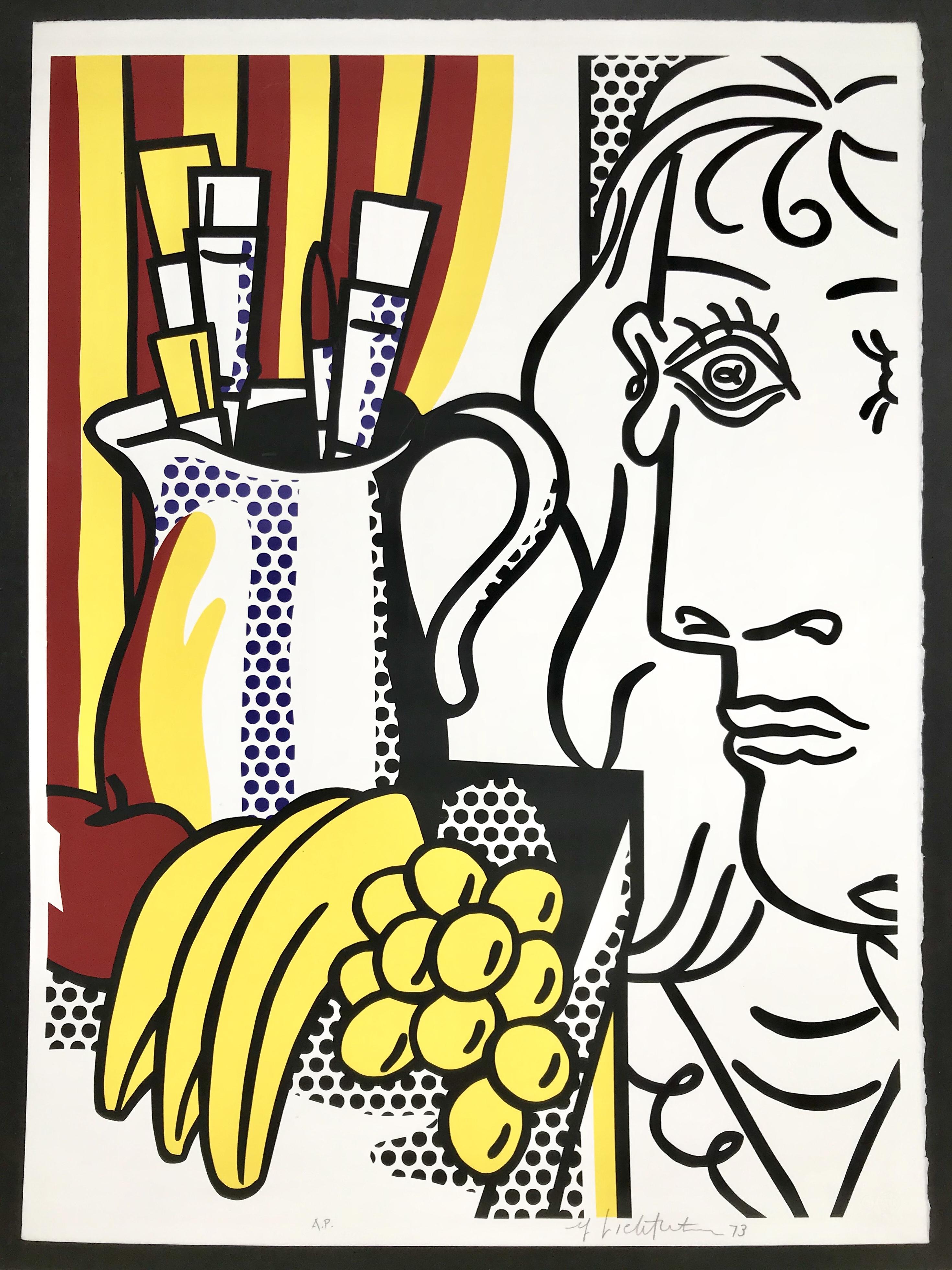 Lichtenstein- Still life with Picasso 1